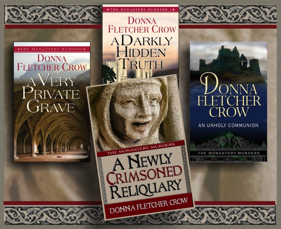 The Monastery Murder Series by Donna Fletcher Crow