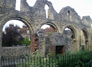 Canterbury: Ruins Behind Cathedral