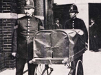 Policeman and Mortuary Cart