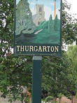 Thurgarten: Village Sign