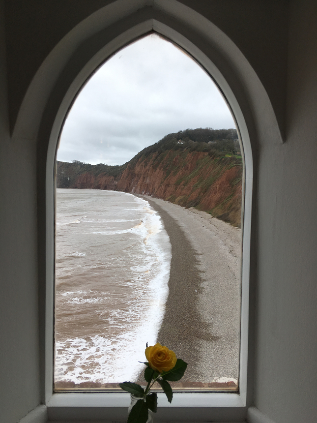 The Front from Clock Tower Sidmouth