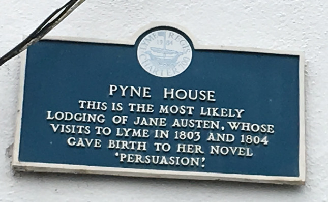 Pyne House Plaque