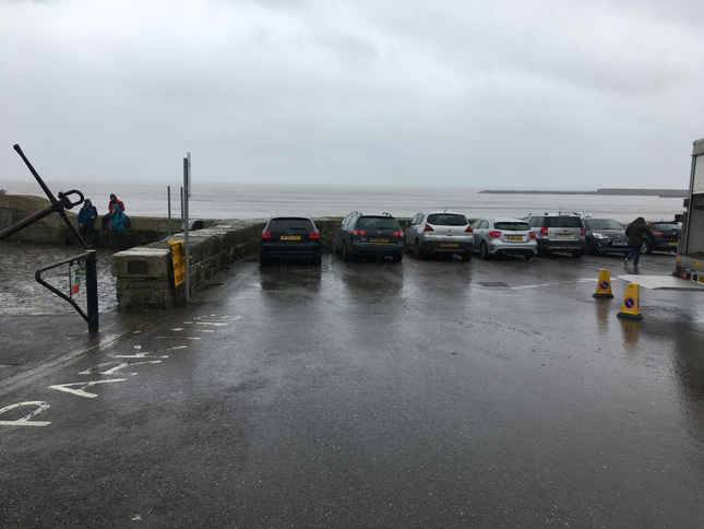 car park Lyme Regis