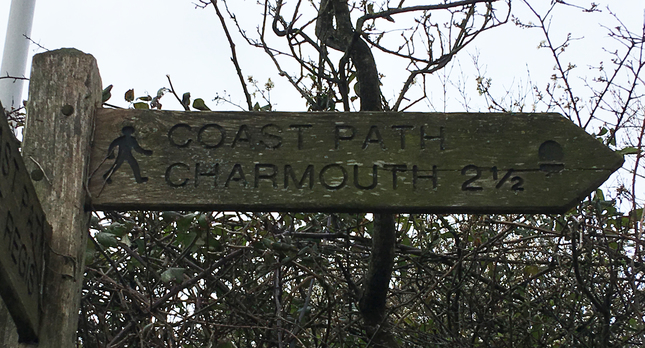 Charmouth Coast Path