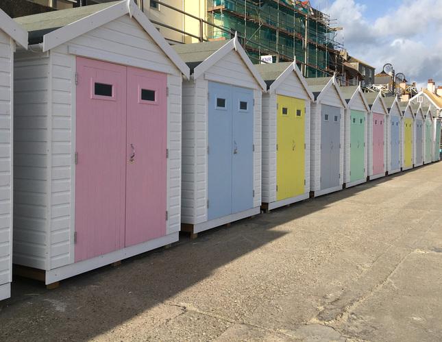 cabanas in Lyme Regis